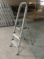 3 steps high quality domestic aluminium ladder