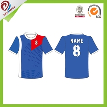 Jersey Football soccer uniform High quality custom design portugal soccer jersey made in China