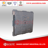 Manhole Covers Heavy Duty D400 Anti Theft Locking with EN124