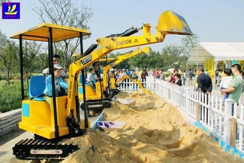 indoor amusement park mini digger children amusement center for mini excavator mini excavator. Black Bedroom Furniture Sets. Home Design Ideas