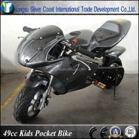 Carbon Color 49cc Kids Bike 49cc Pocket Bike Mini Bike