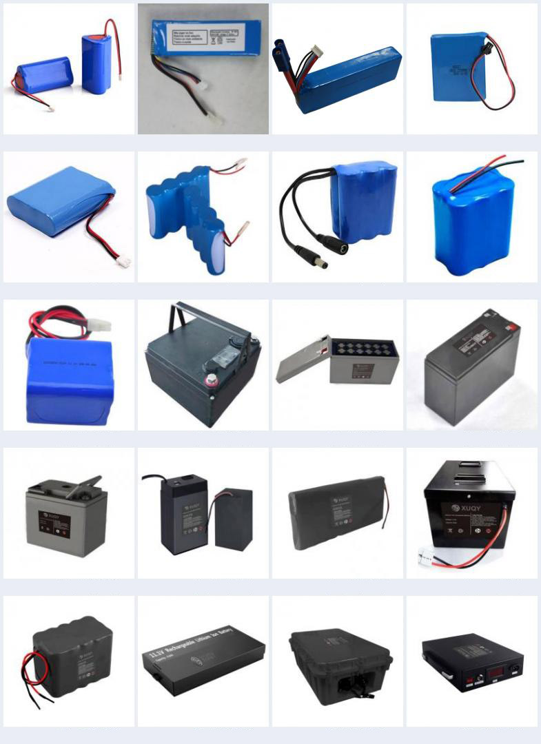 OEM Customized Lithium Ion Battery 12V 20Ah 30Ah 40Ah 100Ah 150Ah 200Ah Rechargeable Li-ion 18650 Battery