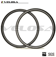 25mm width 38mm height clincher 700c road carbon rims with 3k/ud matte carbon fiber