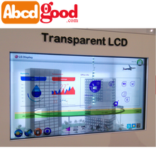 transparent advertising LCD display monitor