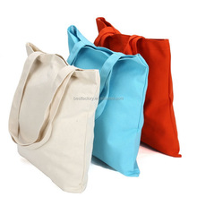 Factory direct sale eco-friendly fashion printed customized reusable handle cotton bag