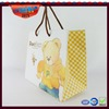 paper bag design and printing paper cosmetics packaging bags promotion hand paper bag with wheels