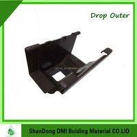 Home Depot China Supplier Pvc Rain Water Gutters Car Rain Gutter In ShanDong