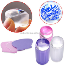 2016 new clear silicone nail tools nail art designs stamping nail art