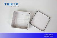 TIBOX hot sale high quality Waterproof switch case Terminal box gear switch box 200X200X95mm