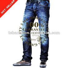 (#TG134M) 2013 straight leg whiskers new style fashion men jeans italy