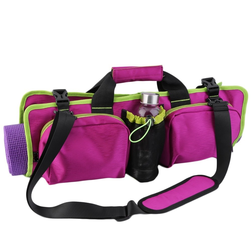 Factory Wholesale 2016 New Fashion Lightweight and convenient fitness yoga bag Multi-purpose pads yoga mat gym sport bag