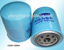Oil Filter 15208-H8904/ 15208-H8911 for Nissa-n Vanette/ Sunny/ Leone/ Silvia/ Bluebird