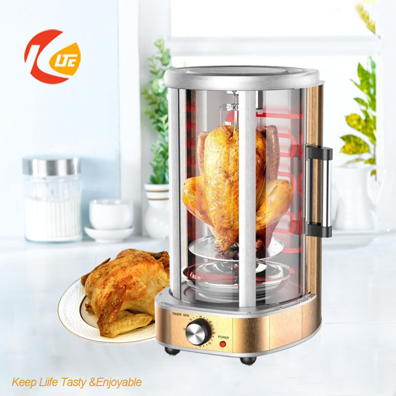 Electric chicken roasting machine