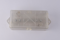 S80527 Transparent box 7 Way Trailer Wire Junction Box Camper Truck Weather Proof RV Light Cord Plug