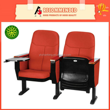 2015 Hot Selling Functional Comfortable Plastic Auditorium Chair