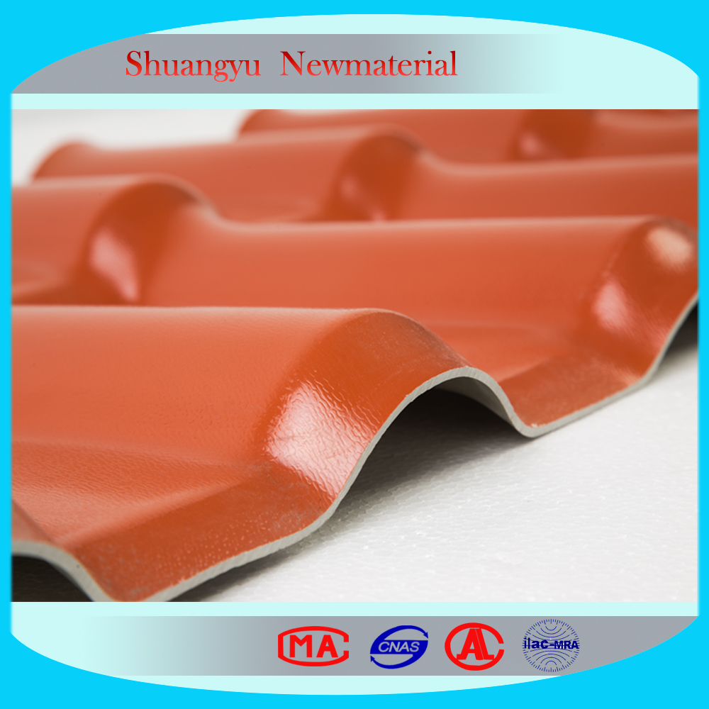 Long-lasting Color Spanish Style Roof Tiles/Roofing Sheet