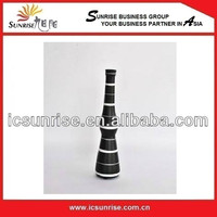 New Black Color Lacquer Vase