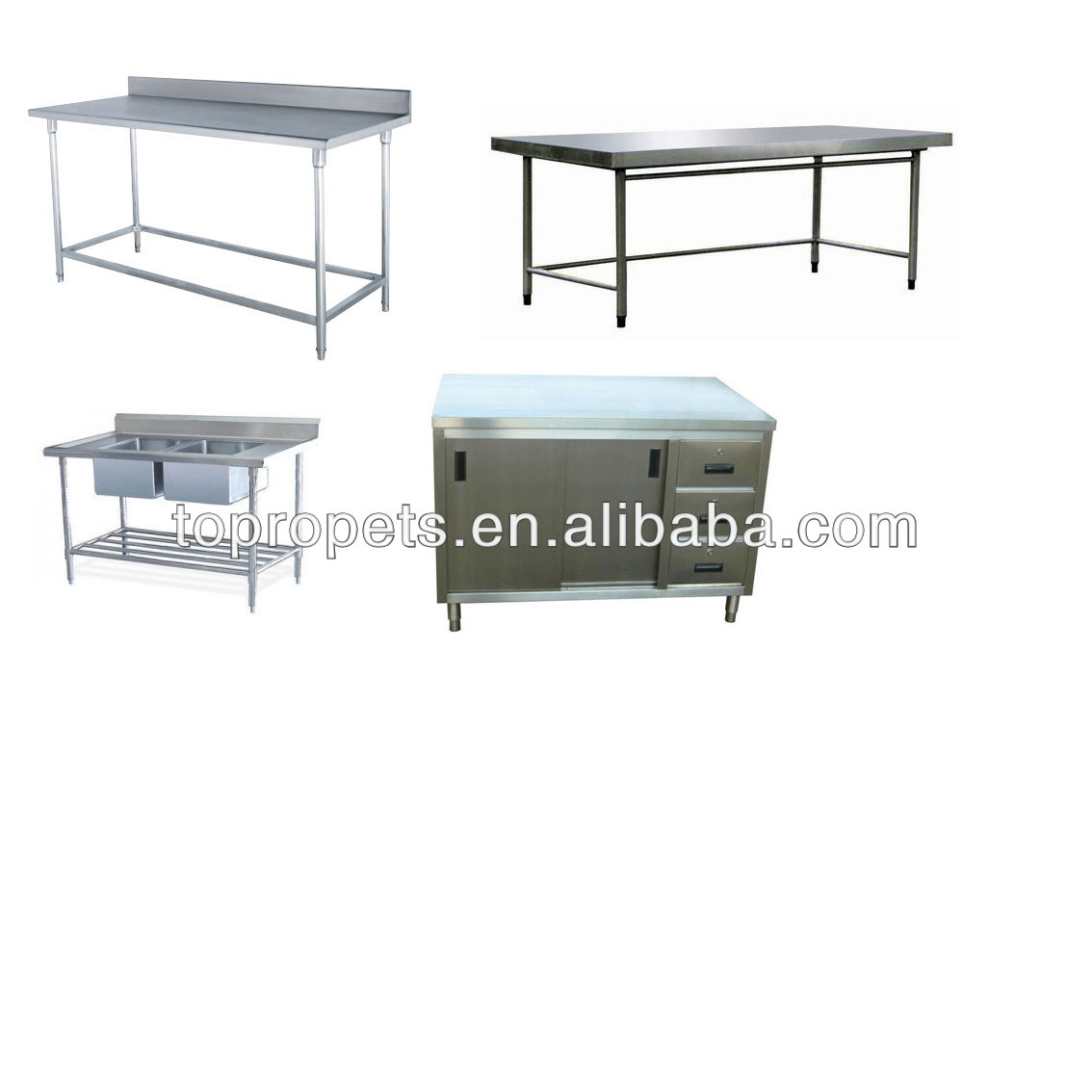 custom-made various kinds of stainless steel table, stainless steel wortable,stainless steel cabinet