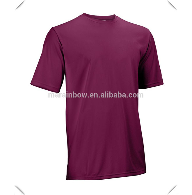 Stretch performance gym fitness t shirts in bulk custom for men wholesale