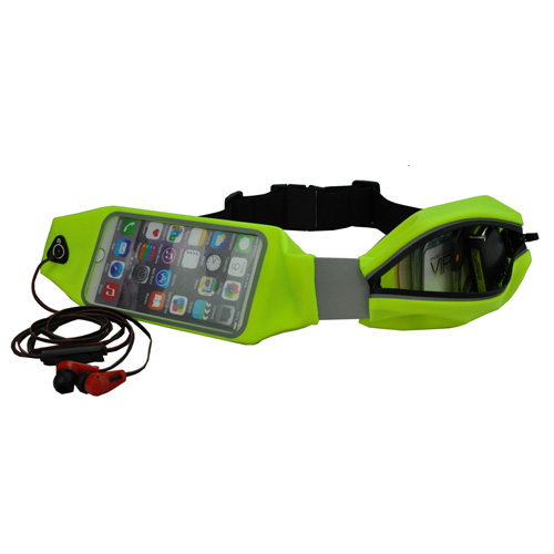 Waterproof Fanny Pack Running Sport Waist Bag Mobile Phone Pouch Wallet Case Holder Belt Zipper Bag for iPhone