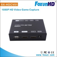FoxUn/Shunxun HDMI Game Video Capture/Grabber H.264 Support NTFS/FAT32 format and USB 2.0 Host