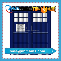 3D Printing Fabric Police Box Shower Curtain