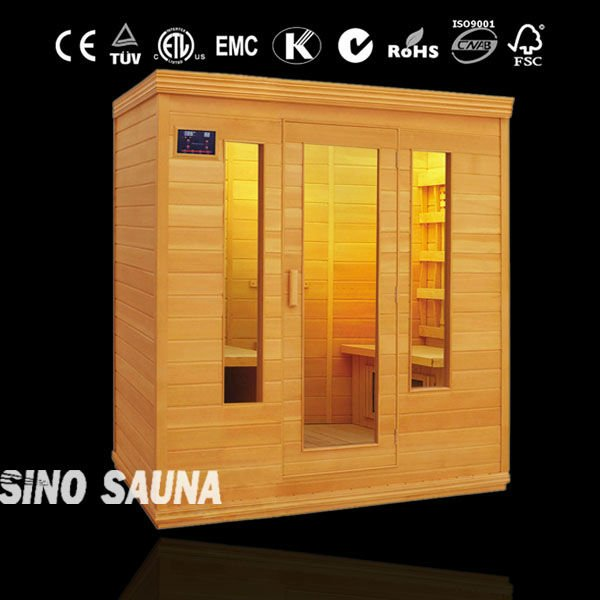 Wood cabin house health care product sauna room