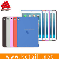 Factory OEM custom design microfiber silicone pc case & cover for ipad pro 9.7