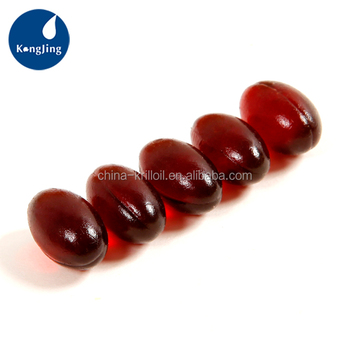 Hot Sale Natural Bulk Krill Oil Capsule 1000MG Krill Oil Softgel