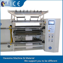 China High Speed kraft Paper Roll Slitting Rewinding machine