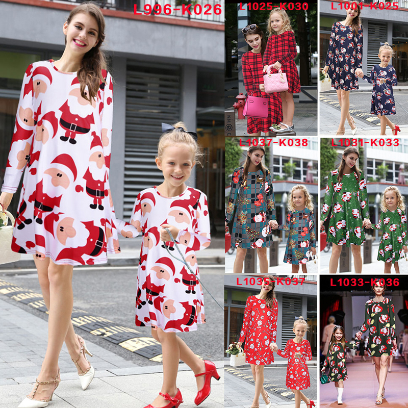 hot sale christmas clothing for girl and women long sleeve print dress buy christmas dance clothingbulk clothing for salechristmas product on alibaba