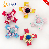 Buy Fashion Gold Flower Hair Clips Accessories in China on Alibaba.com