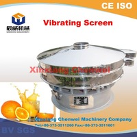 Alibaba gold supplier high effficiency xxsx hot vibratory screen in china