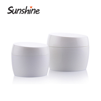 Round Shape Empty Hair Products Cosmetic