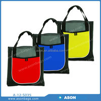 long handle wholesale polyester shopping tote bag