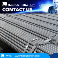 DN6 1/8 inch galvanized steel pipe/2 inch schedule 40 gi pipe price