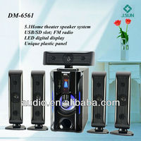 5.1channel 5.1 tower home theater speaker (DM-6561)