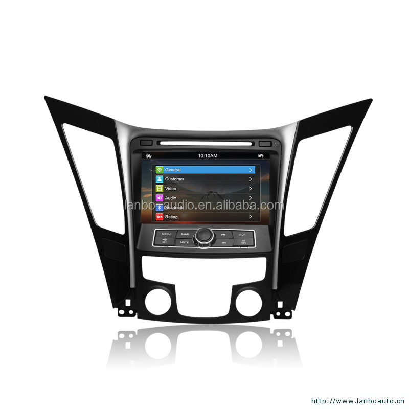 Car dvd gps for hyundai sonata nf with touch screen monitor