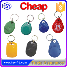 HSY Multi color rfid key fob / rfid key tag / rfid key with low cost