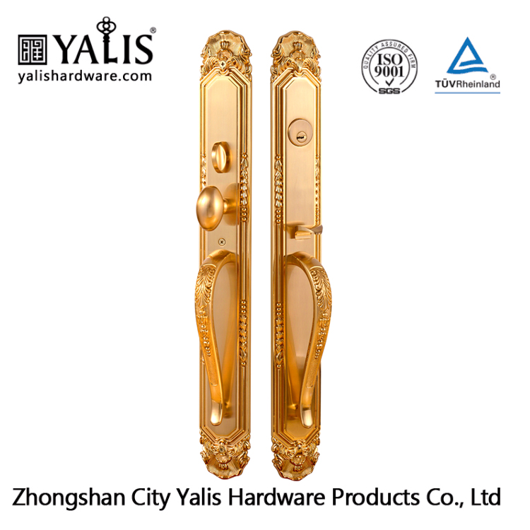 Iron Security American Entrance Main Door Gate Lock With Yalis Branded On Panel