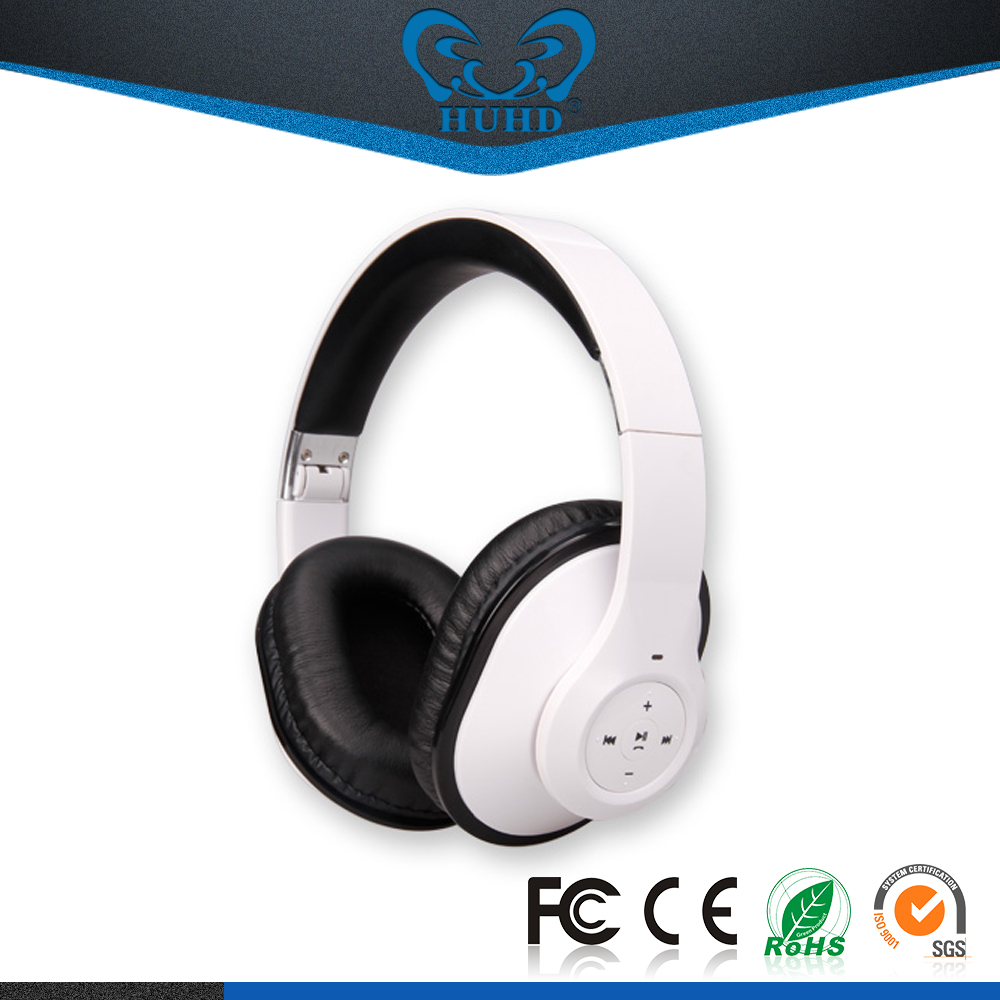 Wholesale stereo bluetooth headset, OEM brand wireless bluetooth headphone, bluetooth head phone for smart phones