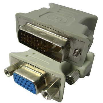 Chinese supplier DVI Male to VGA Female Cable Adapter