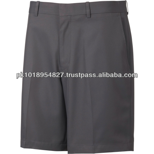 Dark Grey Flat front tech Golf Shorts in different colors and sizes