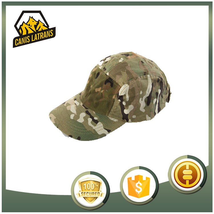 Professional Factory Flat Unisex Winter Visor Army Baseball Cap