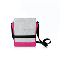 wholesale felt shoulder bag