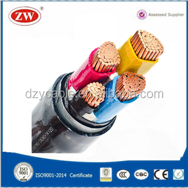 PVC/XLPE Insulation Sheathed Power 4x240mm Cable