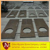 High quality double bullnose granite countertop