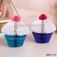 Wedding Festival Party Baby Shower Decoration Paper Honeycomb Cake Ball