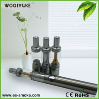 2014 original design 3-in-1 chamber e cig glass globe vaporizer pen with huge vapor