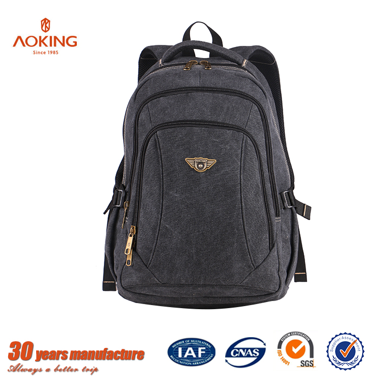 Wholesale custom satchel canvas rucksack backpack bag